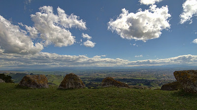 Te Mata peak, Havelock North, Hawke's Bay, New Zealand