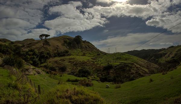 Between Ragln and Te Akau